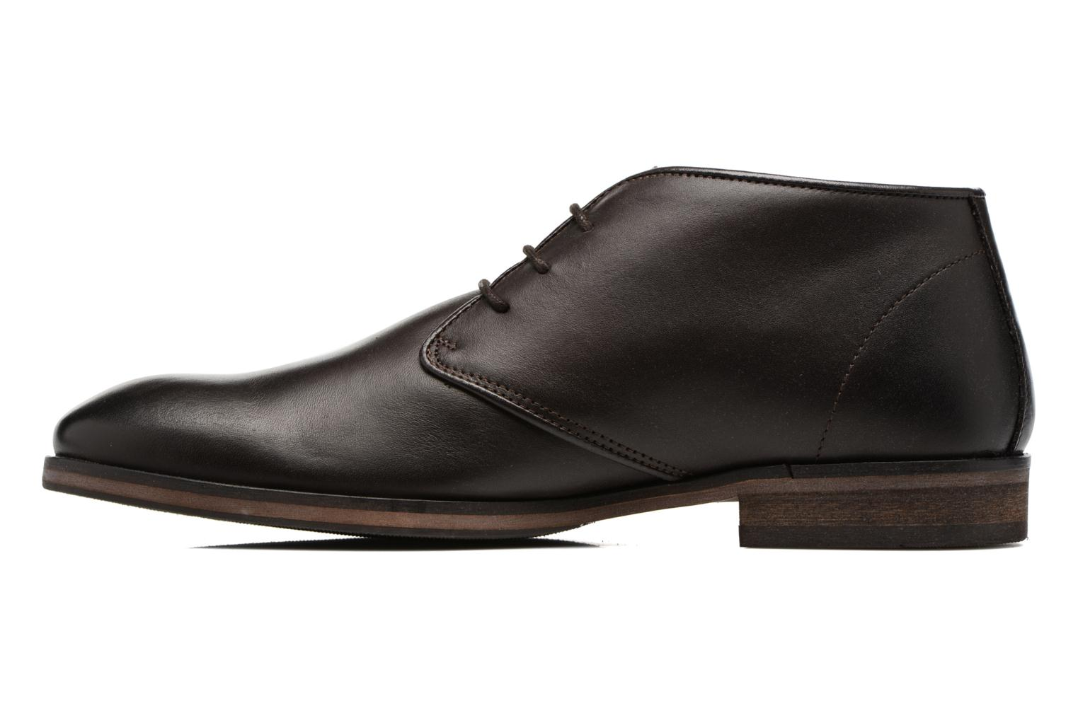 Chaussures à lacets Selected Homme Bolton Chukka Boot Marron vue face