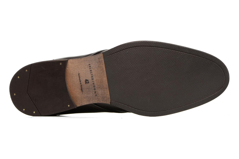 Chaussures à lacets Selected Homme Bolton Chukka Boot Marron vue haut