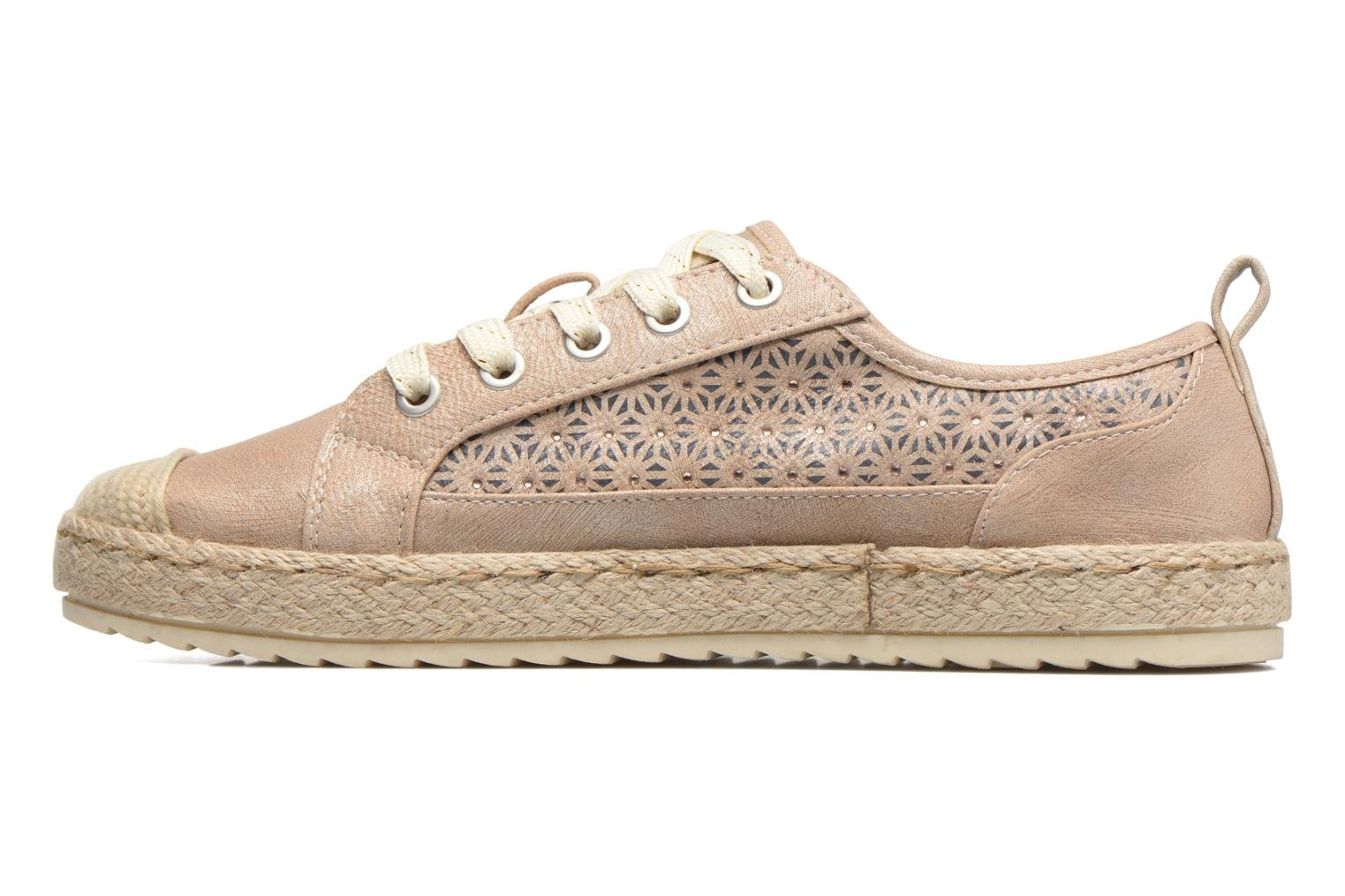 Espadrilles Mustang shoes Padrille Beige vue face