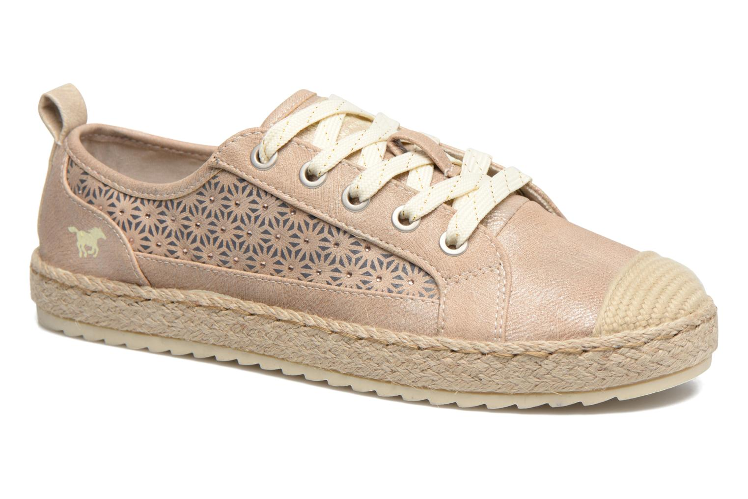 Espadrilles Mustang shoes Padrille Beige detailed view/ Pair view