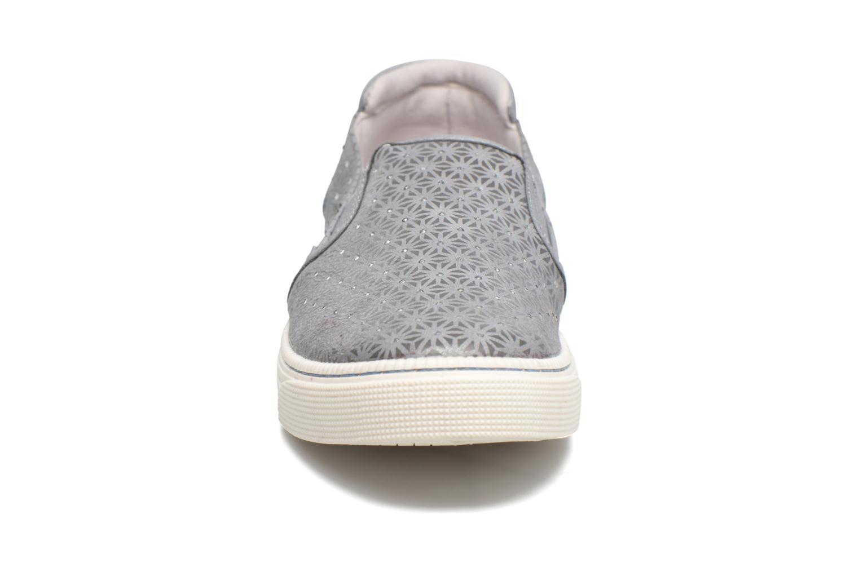 Baskets Mustang shoes Vis Gris vue portées chaussures