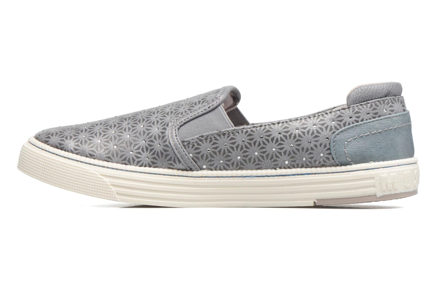 Trainers Mustang shoes Vis Grey front view