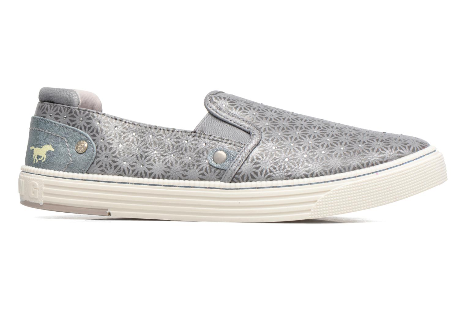 Trainers Mustang shoes Vis Grey back view