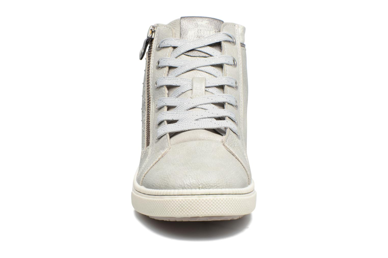 Baskets Mustang shoes Lira Gris vue portées chaussures