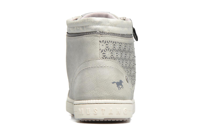 Baskets Mustang shoes Lira Gris vue droite