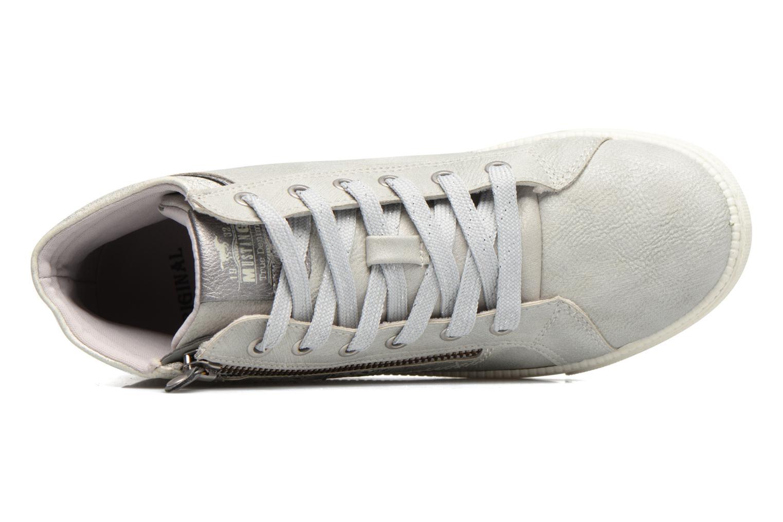 Baskets Mustang shoes Lira Gris vue gauche
