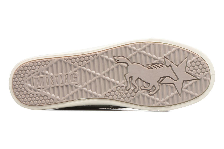 Baskets Mustang shoes Lira Gris vue haut