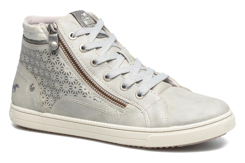 Baskets Mustang shoes Lira Gris vue détail/paire