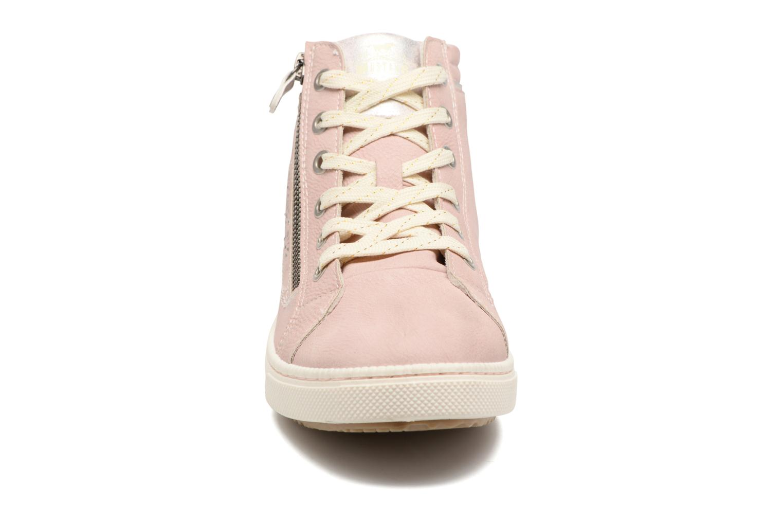 Baskets Mustang shoes Lira Rose vue portées chaussures