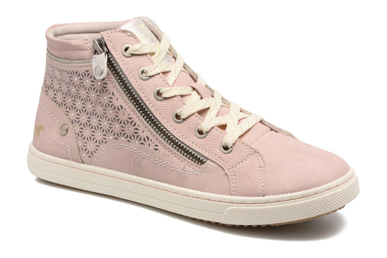 Baskets Mustang shoes Lira Rose vue détail/paire