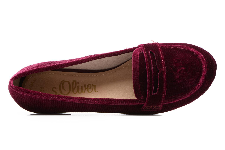 Mocassins S.Oliver Athena Violet vue gauche
