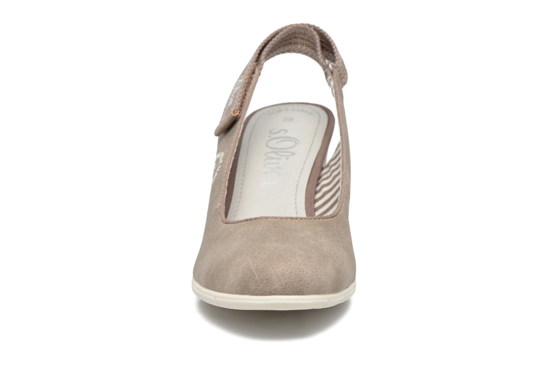 Escarpins S.Oliver Rodao Gris vue portées chaussures