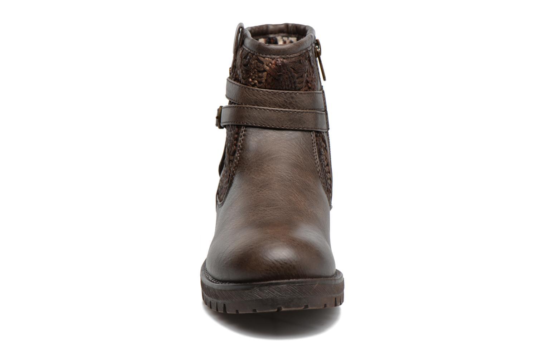 Bottines et boots Refresh Mariona Marron vue portées chaussures