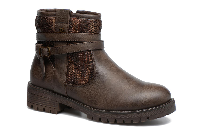Bottines et boots Refresh Mariona Marron vue détail/paire