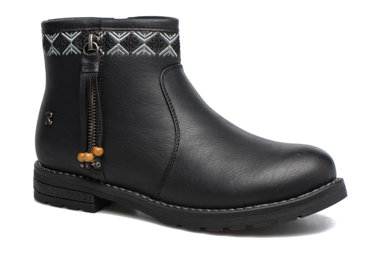 Bottines et boots Refresh Fionelle Noir vue détail/paire