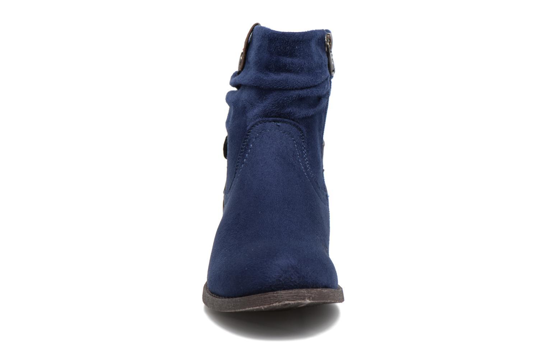 Bottines et boots Refresh Charlie Bleu vue portées chaussures
