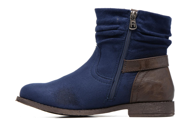 Bottines et boots Refresh Charlie Bleu vue face