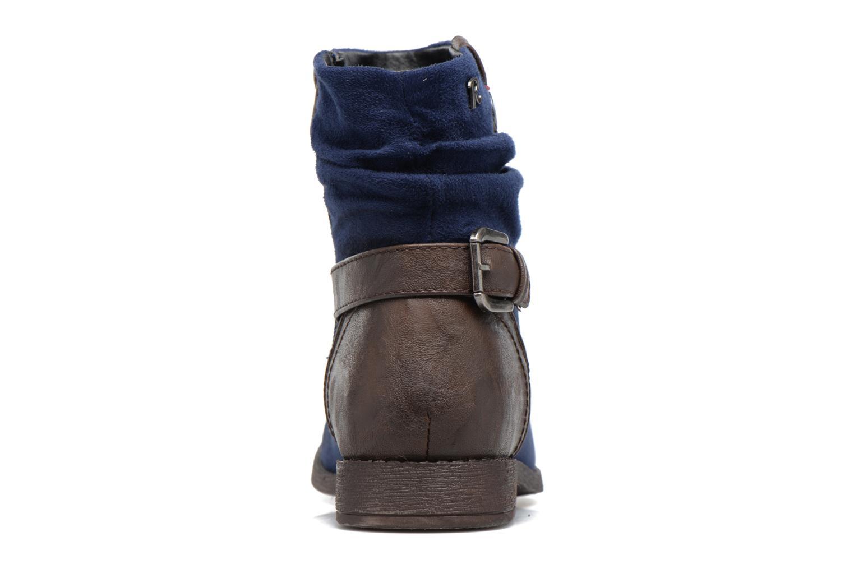 Bottines et boots Refresh Charlie Bleu vue droite