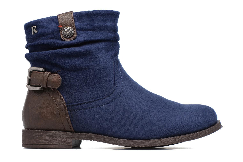 Bottines et boots Refresh Charlie Bleu vue derrière