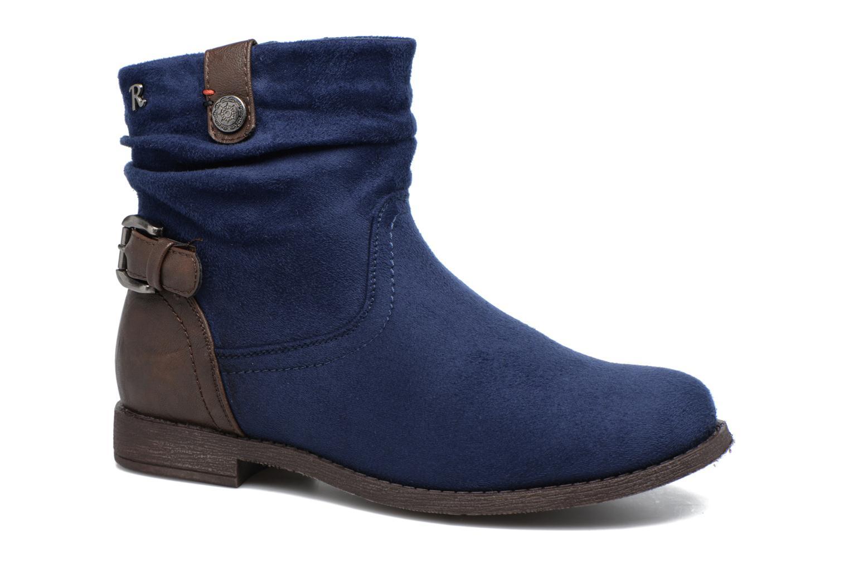 Bottines et boots Refresh Charlie Bleu vue détail/paire