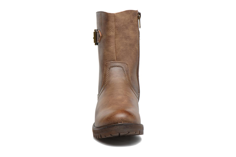 Bottines et boots Refresh Burdas Marron vue portées chaussures