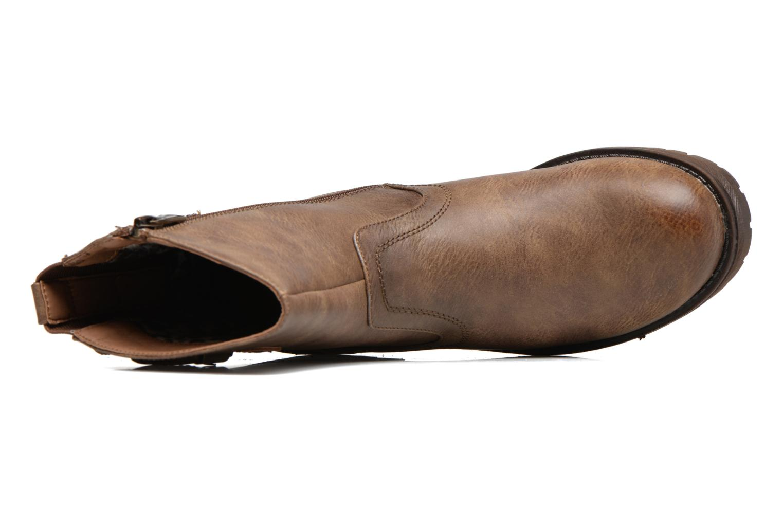 Bottines et boots Refresh Burdas Marron vue gauche