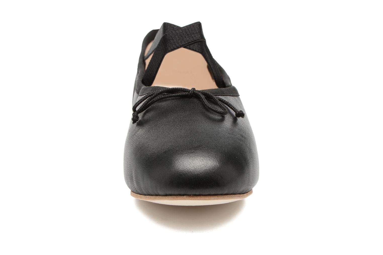 Ballerines Opéra national de Paris Gigi Noir vue portées chaussures