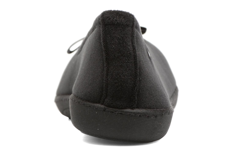 Ballerine ergonomique micro velours Noir