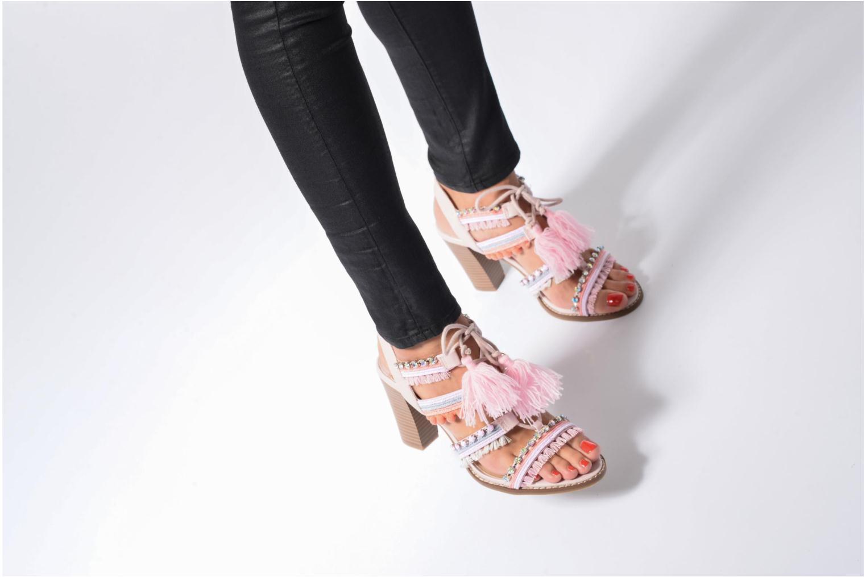 Sandales et nu-pieds Dorothy Perkins Selfie Multicolore vue bas / vue portée sac