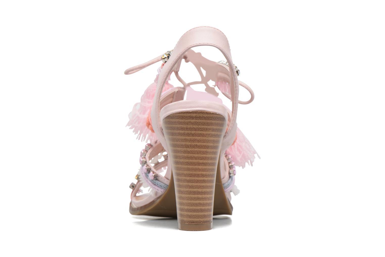 Sandales et nu-pieds Dorothy Perkins Selfie Multicolore vue droite
