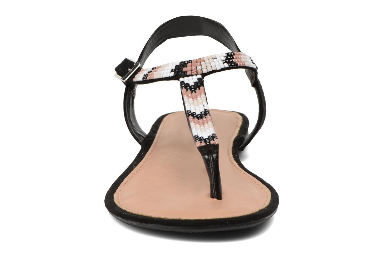 Sandales et nu-pieds Dorothy Perkins Fire Noir vue portées chaussures