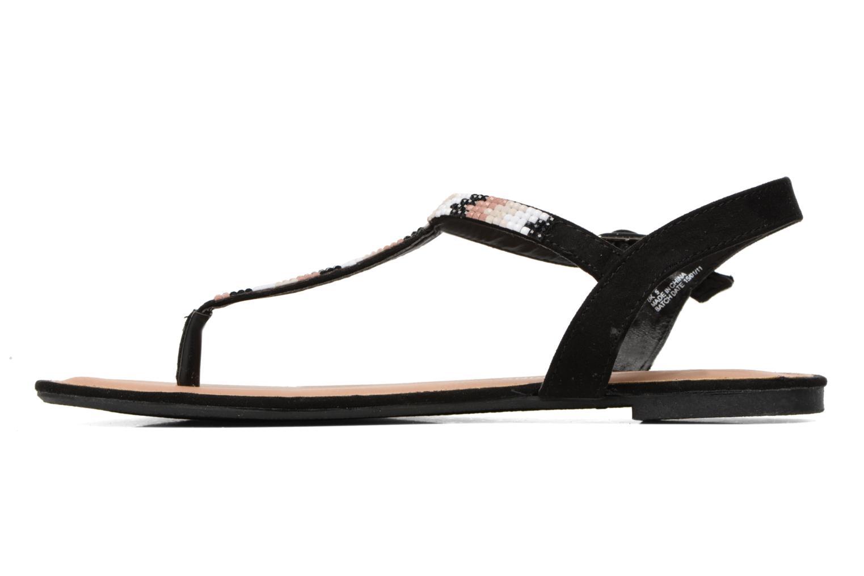 Sandales et nu-pieds Dorothy Perkins Fire Noir vue face