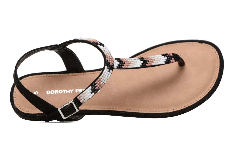 Sandales et nu-pieds Dorothy Perkins Fire Noir vue gauche