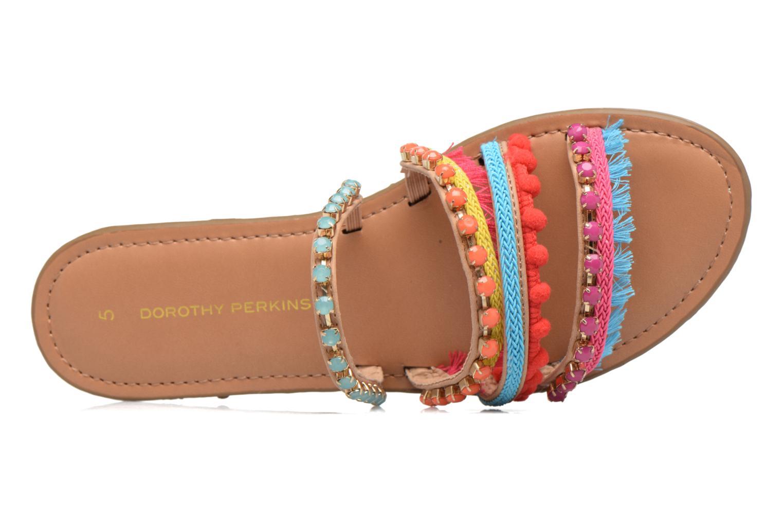 Mules et sabots Dorothy Perkins Fraya Multicolore vue gauche