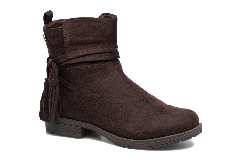 Bottines et boots Xti Stabil 53819 Marron vue détail/paire