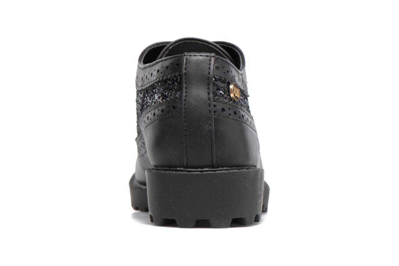 Chaussures à lacets Xti Mistic 53838 Noir vue droite