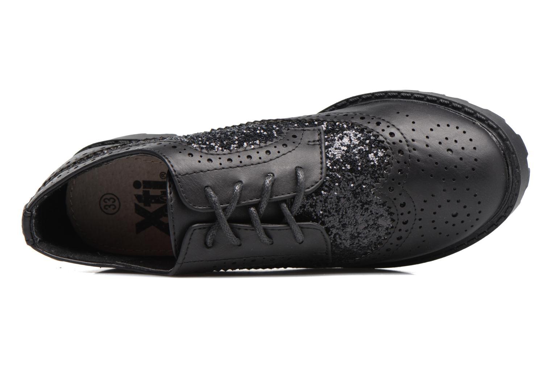 Chaussures à lacets Xti Mistic 53838 Noir vue gauche