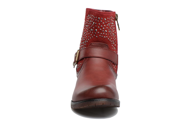 Bottines et boots Xti Mag 53857 Rouge vue portées chaussures