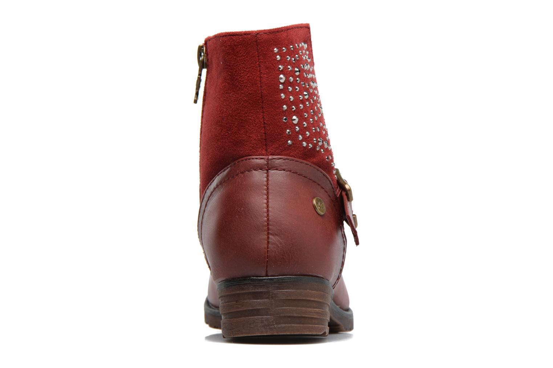 Bottines et boots Xti Mag 53857 Rouge vue droite