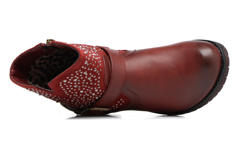 Bottines et boots Xti Mag 53857 Rouge vue gauche