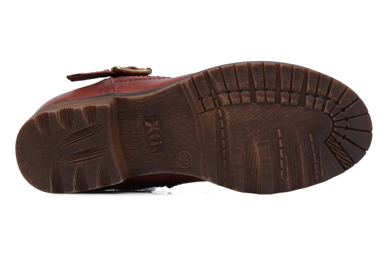 Bottines et boots Xti Mag 53857 Rouge vue haut