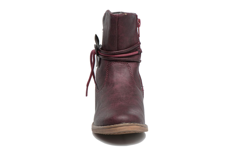 Bottines et boots Xti Koli 54055 Bordeaux vue portées chaussures