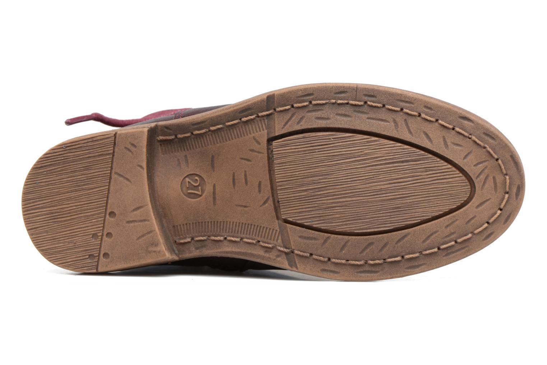 Bottines et boots Xti Koli 54055 Bordeaux vue haut
