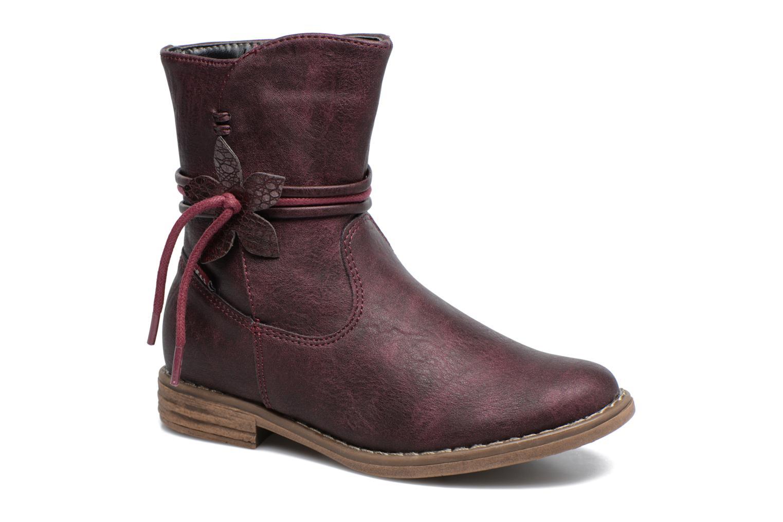 Bottines et boots Xti Koli 54055 Bordeaux vue détail/paire