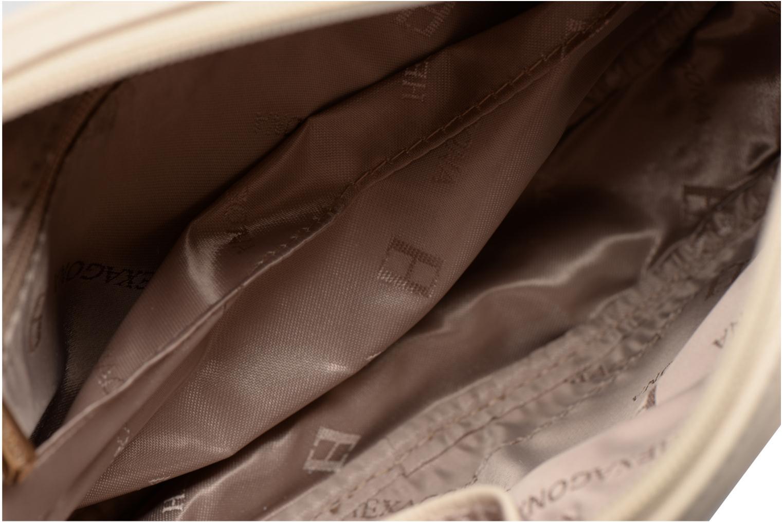 Handbags Hexagona Cercle Beige back view
