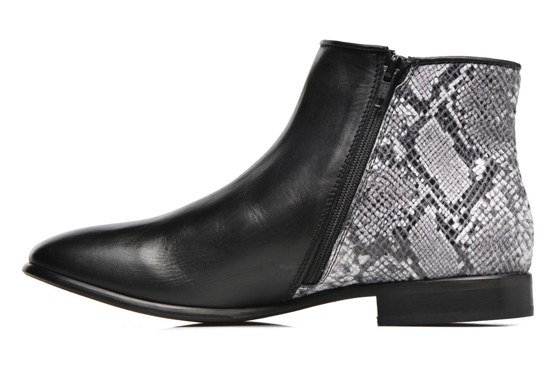 Bottines et boots Georgia Rose Anouser Noir vue face
