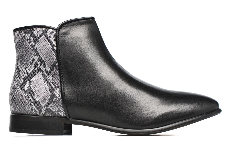Bottines et boots Georgia Rose Anouser Noir vue derrière
