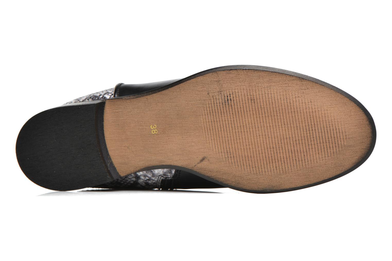 Bottines et boots Georgia Rose Anouser Noir vue haut