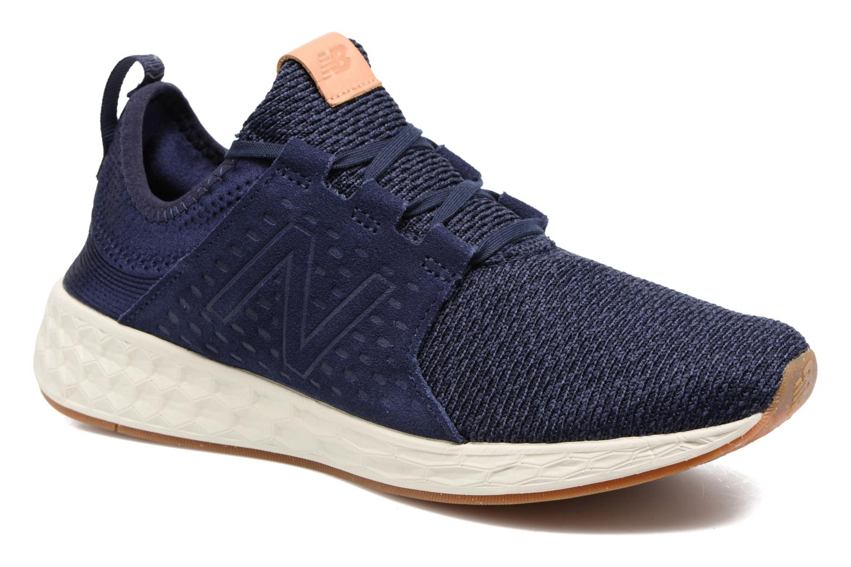 Chaussures de sport New Balance MCRUZ Bleu vue détail/paire