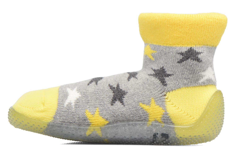 Sokken en panty's SARENZA POP Chaussons Chaussettes POP  Slippers Geel voorkant